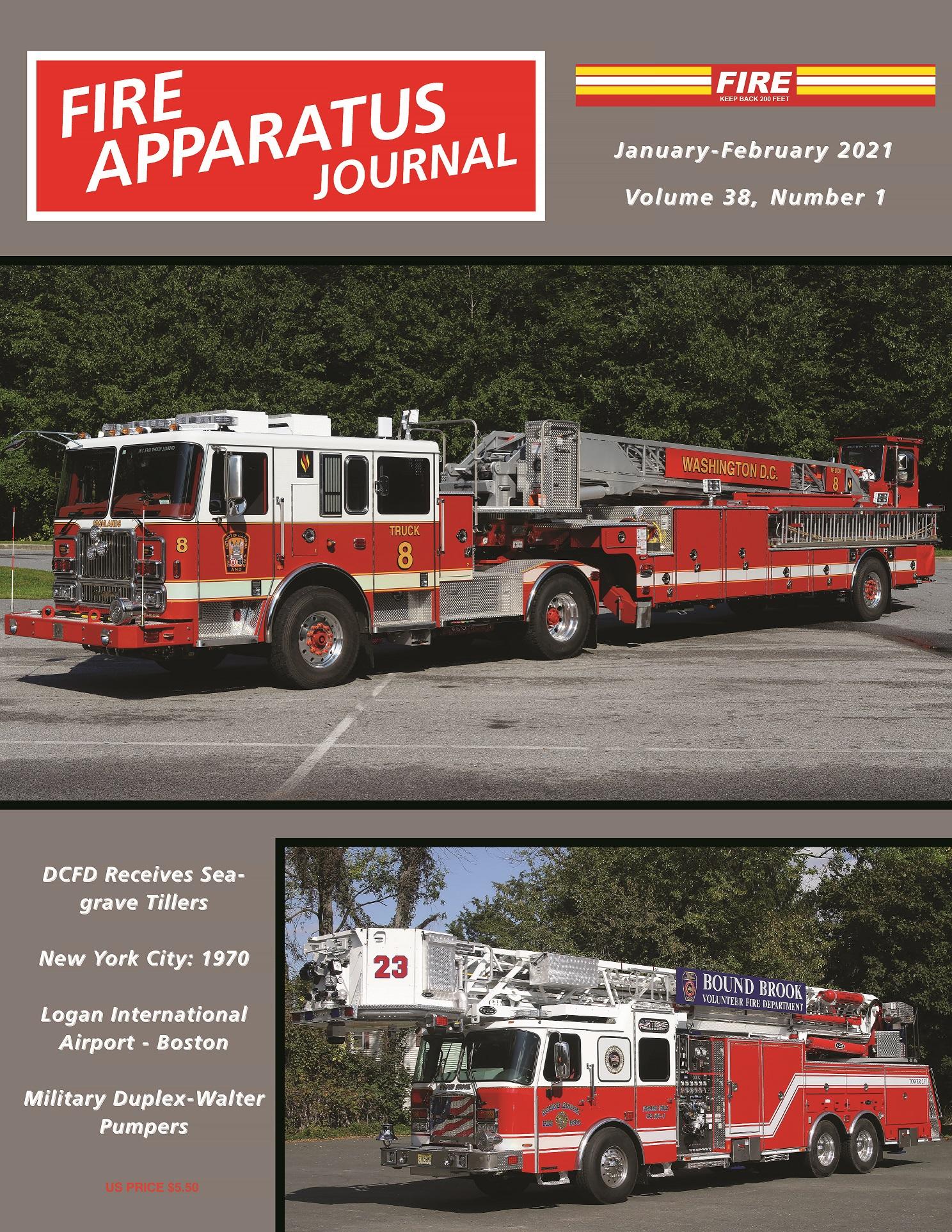 2021 January / February   Fire Apparatus Journal Inc.